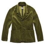 New Mens Retro Trendy Corduroy Jacket Big Pockets Casual Blazer