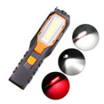 New XANES® 6302B COB + LED 4 Modes 90° Rotating Head Flashlight USB Rechargeable Work Light