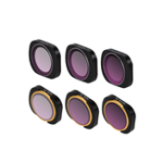 New 6pcs Multi-Layer Films Filter Lens Filter Set ND4+ND8+ND16+ND4-PL+ND8-PL+ND16-PL For DJI Osmo Pocket Handheld Gimbal Accessory