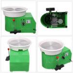 New 220V 250W Electric Pottery Wheel Ceramic Machine 320mm Ceramic Clay Potter Kit