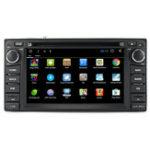 New 7 Inch 2 DIN 8G GPS Card Bluetooth WiFi FM DVD Car Radio MP5 Player for Toyota