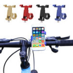New Aluminum Bicycle Handlebar Phone Holder Outdoor Cycling Bike Phone Stand