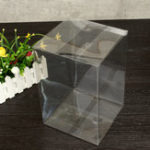 New 18*18*27cm PVC Pop Protector Crystal Clear Plastic Box Standard Packaging Protection Case Board