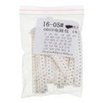 New 660Pcs 33 Values Each 20 Resistor 0603 SMD Resistor Kit Assorted Kit 1Ohm-1M Ohm 1%