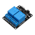 New 5pcs 2 Channel Relay Module 12V with Optical Coupler Protection Relay Extended Board For Arduino MCU