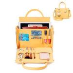 New Brenice Women Solid Cosmetic Handbag