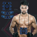 New KALOAD Rechargeable EMS Abdominal Waist Arm Leg Training Sports Fitness Muscle Trainer Stimulator Tools
