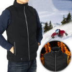 New Men Women Outdoor Sports Body Warm Clothes Vest Winter Electric Jacket Heating Sleeveless Vest Overcoat