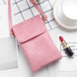 New Women Vintage Leisure Phone Purse Crossbody Bag