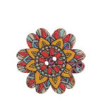 New Antique Bohemian Style Buttons Scrapbooking Crafts Handmade Home Decoration Sewing Supplies