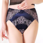 New High Waist 3XL-6XL Lace Floral Soft Panties