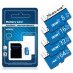 New Xoueshone 16GB 32GB 64GB Class 10 High Speed TF Flash Memory Card with SD Adapter for Mobile Phone