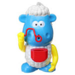 New Kids Electric Bubble Tub Sheep Music Toys Automatic Shower Machine Blower Maker