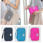 New Outdoor Travel Card Passport Storage Bag Documents Cash Wallet Organizer Card Holder