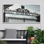 New AU Print Wall Decor Black White Door Paintings Art Canvas Pictures Room Poster