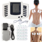 New Rechargeable TENS Unit Muscle Stimulator Machine