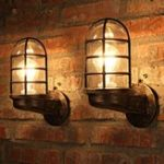 New Vintage Industrial Unique Wall Light Iron Cafe Shop Restaurant Bar Wall Lamp