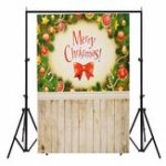 New 3x5FT Vinyl Merry Christmas Decor Wood Floor Photography Backdrop Background Studio Prop