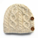 New Men Women Winter Earmuffs Manual Weaving Knit Beanie Hat