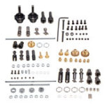 New WPL 6X6 All OP Accessory For 1/16 WPL B16 B36 Kit 1/16 6WD RC Car Parts
