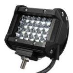 New 10-30V 120W 4inch 24 LED Flood Pod Spot Beam Work Light Bar OffRoad Lamp Car Truck Motor