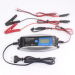 New FOXSUR 12V 7-stage Motorcycle LCD Intelligent Car Smart Battery Charger