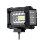 New 3.5 Inch 72W LED Work Light Bar Side Shooter Flood Spot Combo Beam for Jeep Offroad ATV SUV