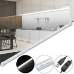 New 50CM SMD5630 White Color LED Rigid Strip Cabinet Light Closet Lamp for Home Decoration