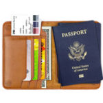 New Genuine Leather RFID Antimagnetic Wallet Card Holder For Men