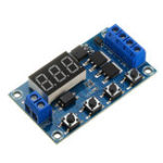 New XY-J04 Trigger Cycle Time Delay Switch Circuit  Double MOS Tube Control Board Relay Module