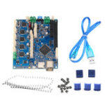 New Duet 2 Wifi V1.04 Upgrades Controller Board Mainboard Cloned DuetWifi Advanced 32bit Motherboard For 3D Printer CNC Machine