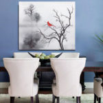 New Modern Bird Wall Sticker Print Canvas Painting Picture Home Wall Art Decoration No Frame