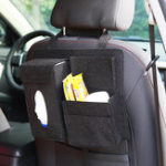 New Felt Car Seat Back Storage Bag Multi Pocket Phone Cup Holder Organizer