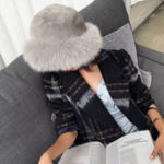 New Women's Warm Thick Artificial Fox Fur Fashion Vintage Hat