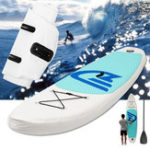 New 10 Feet Inflatable Surfboard Stand Up Paddle Board SUP Paddleboard Kayak Surf Board