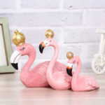 New Resin Flamingo Ornament Garland Decorations Home Decor Wedding Gift