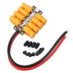 New High Current PCB Power Distribution Board 20AWG Wire for DIY RC Multicopter Drone
