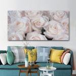 New 19″x32″ Paintings Roses Blossom Flower Canvas Prints Pictures Art Home Decor Frameless