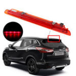 New 12V Car LED Rear Third Brake Lights Tail High Mount Stop Lamp Red for Nissan Qashqai 2006-2014