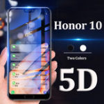 New Bakeey 5D Curved Edge Full Cover Tempered Glass Screen Protector For Huawei Honor 10