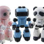 New CRAZON 1802 Smart RC Robot Toy Infrared Control Sing Dance Voice Message Record Story Telling Toy