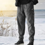 New Mens Vintage Corduroy Loose Comfy Solid Color Casual Pants