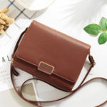 New Women Faux Leather Brief Multifunctional Three Layers Bag