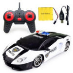 New Ye Jia Toys 266-5 1/12 Wireless 4CH Simulation Police Rc Car with Front LED Light Model