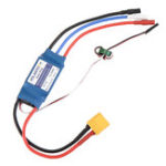 New Volantex 30A 2-4S Brushless ESC With XT60 Plug Spare Part For Phoenix V2 759-2 742-3 742-6 747-4 759-1 757-4 756-2 RC Airplane