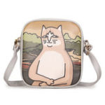 New Women Cute Cartoon Crossbody Bag Phone Bag Shoulder Bag