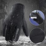 New Outdoor Sports Bike Motorcycle Winter Warm Finger Gloves Windproof Waterproof Anti-slip Thermal Touchscreen Gloves