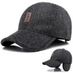 New Middle-aged Men Women Outdoor Earmuffs Baseball Cap