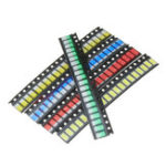 New 300Pcs 5 Colors 60 Each 5730 LED Diode Assortment SMD LED Diode Kit Green/RED/White/Blue/Yellow