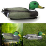 New 1Pcs PE Lifelike Swimming Duck Bunting Hunting Decoy Outdoor Training Shooting Target Animal Archery Target